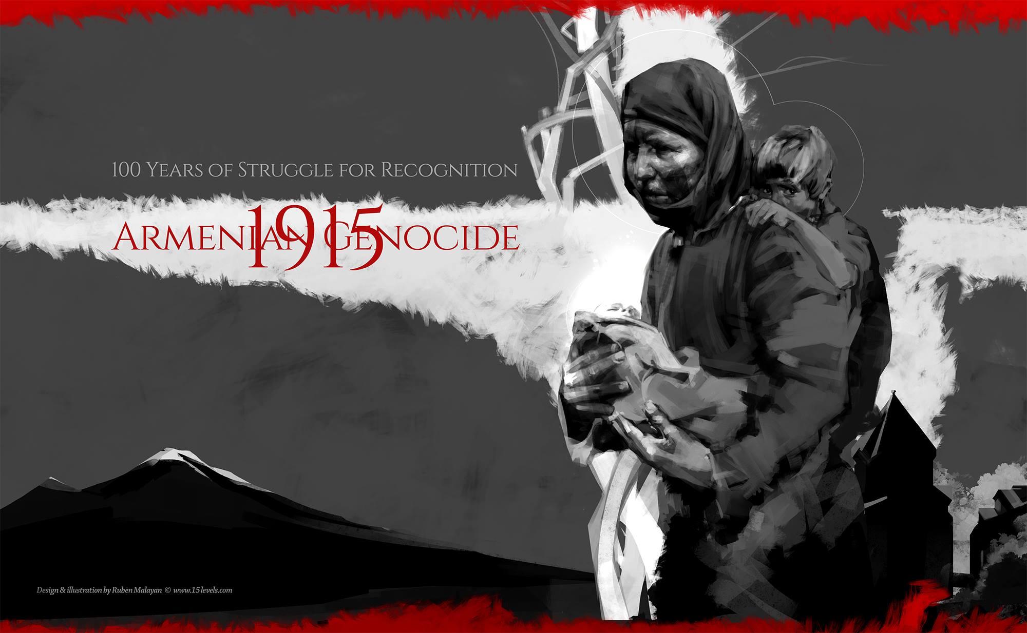 Armenian Genocide poster by Ruben Malayan